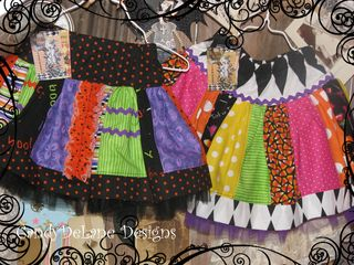 Halloween Princess Sophia twirl skirts 2010