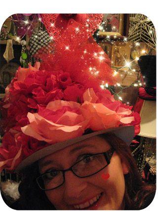 Valentine hat close up pic 3
