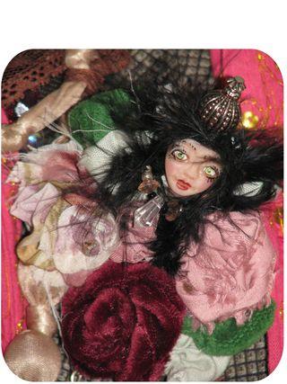 Gift of fairy rosette