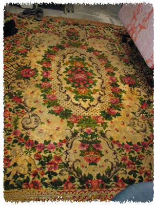 Victorian rug 1