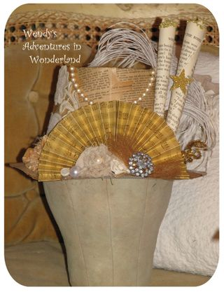 Paper hat for Rebecca 2