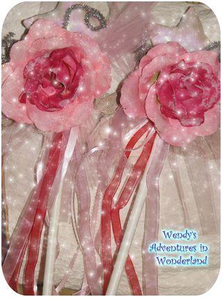 Fairy wand 3 pink