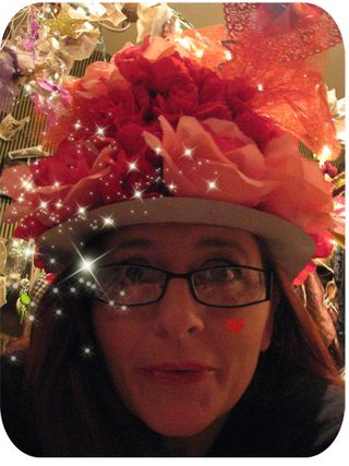 Valentine hat close up pic 1