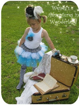 Circus and alice in wonderland tutu 075 copy