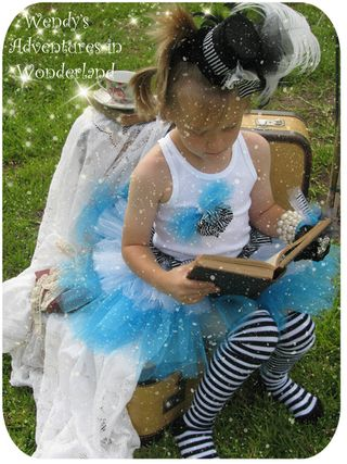 Circus and alice in wonderland tutu 069 copy