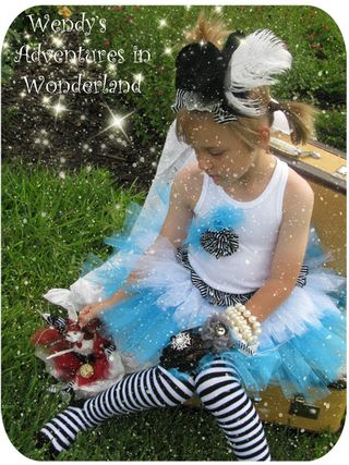 Circus and alice in wonderland tutu 063 copy