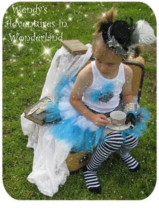 Circus and alice in wonderland tutu 067 copy