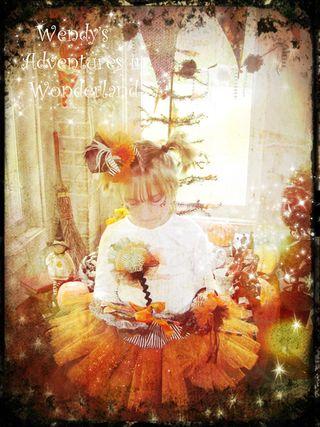 Halloween pixie girls and halloween tutu photo shoot on porch 033 copy