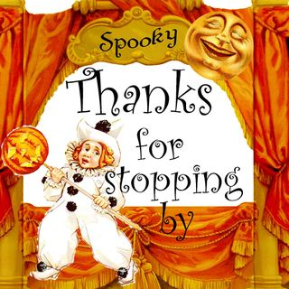 Thanks for stopping by sign