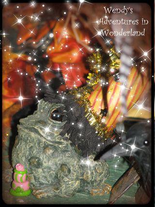 Witches tea party vignette 2