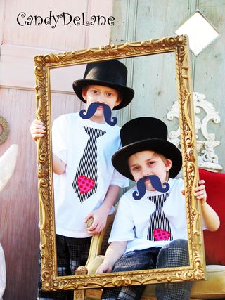 Twins photo shoot-mustache 12-7-12 005 with fram high contrast watermarked