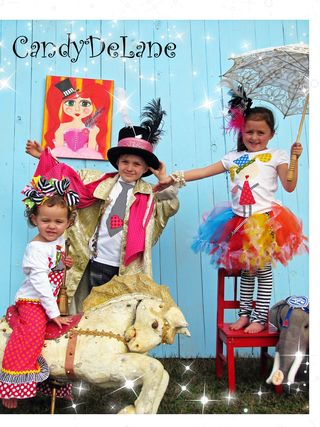 CIRCUS GIRL AND TEA PARTY GIRLS PHOTO SHOOT 020 copy