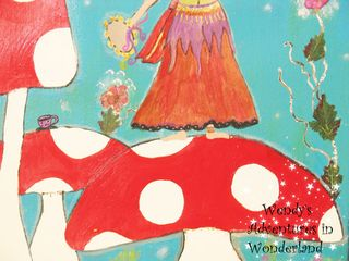 The Toadstool Gypsy painting 023 copy