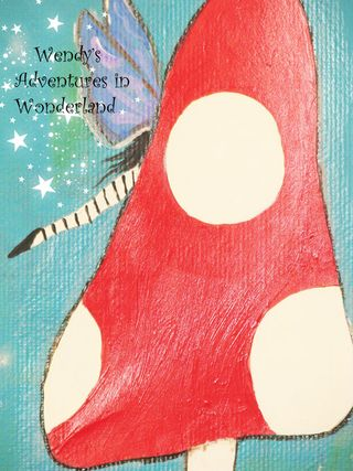 The Toadstool Gypsy painting 016 copy