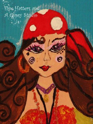 The Toadstool Gypsy painting 035copy